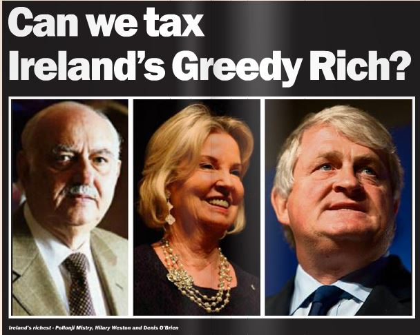 Can we tax Ireland's greedy rich?