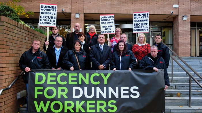 Support the Dunnes Stores Workers