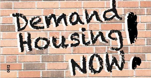 Mass Campaign on Housing Crisis Begins