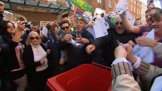 Water Charges: Thousands march for non-payment