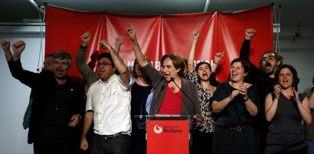 Big Gains for Left in Spain