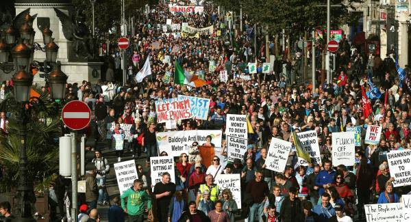 Protest, Boycott, Elections- use every tactic to beat Irish Water