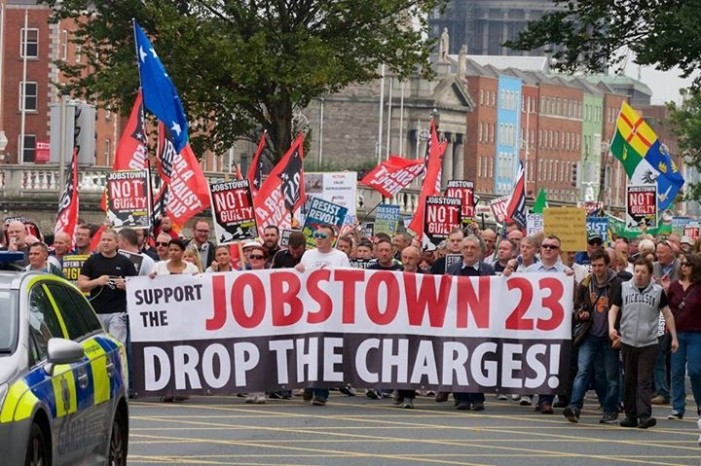 Jobstown 27 – the attack continues