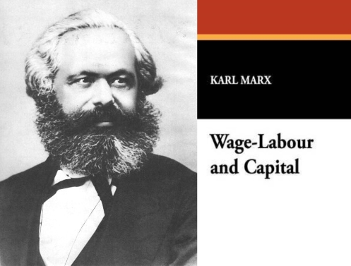 Karl Marx; Wage Labour and Capital