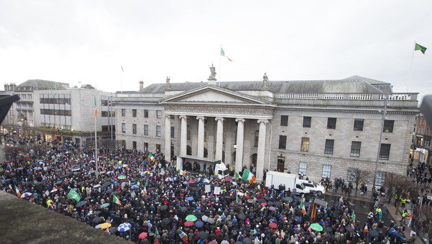As thousands march across Ireland- it's time for change