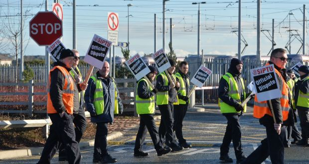 Solidarity with the LUAS workers