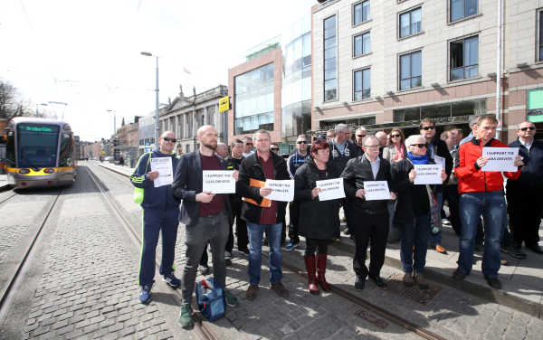 Luas drivers fight for decent pay