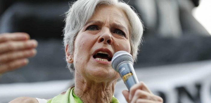 Neither Clinton nor Trump, but Jill Stein!