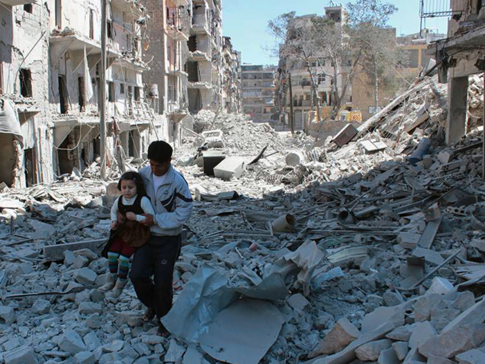 Aleppo, Mosul, Yemen: imperialist destruction