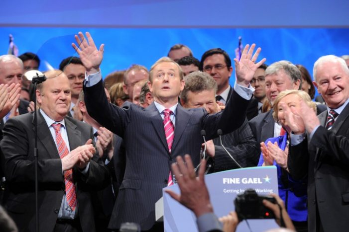 KENNY AND FINE GAEL- THROW THEM OUT
