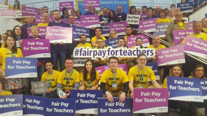 Teachers' Conferences: pay equality is key issue