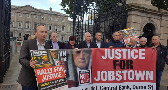 DEFEND JOBSTOWN: PROTEST IS NOT A CRIME