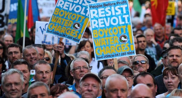 Brid Smith says: Water charges – a victory for the people.