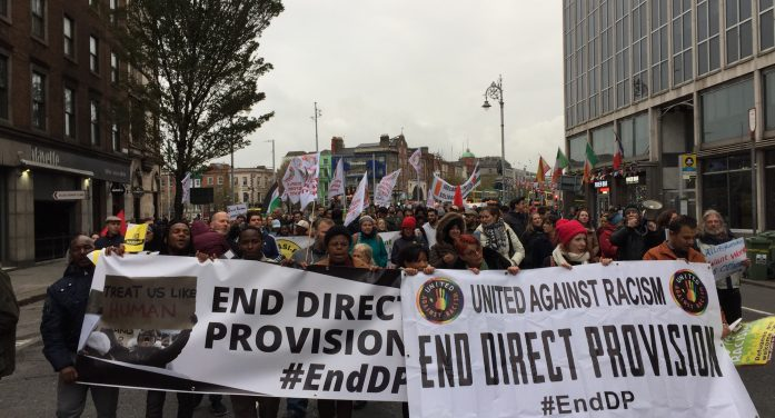 Hundreds march in Dublin for an end to Direct Provision